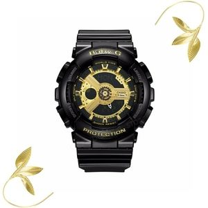 Casio Baby-G Black and Gold